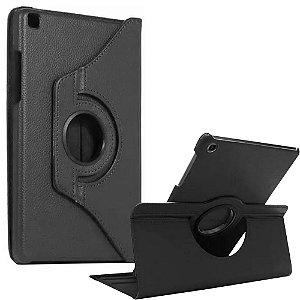 Capa Giratória Preta Galaxy Tab S6 Lite 10.4' P610 P615 - Armyshield