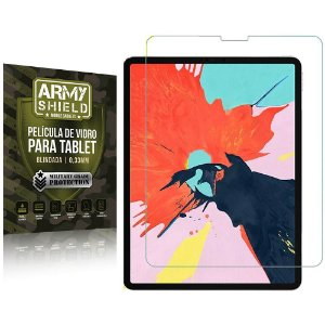 Película de Vidro iPad Pro 12.9' 2020 2021 - Armyshield