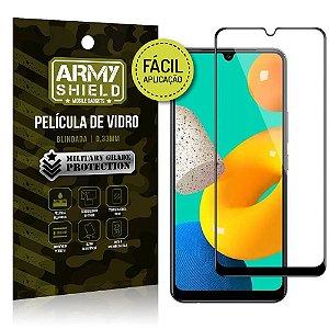 Película de Vidro 3D Samsung M32 Fácil de aplicação - Armyshield