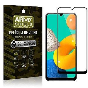 "Película de Vidro Samsung M32 Blindada para tela 6,4"" Full Cover - Armyshield"