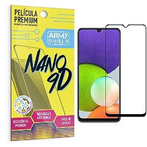 Película Samsung A22 4G Premium Nano 9D - Armyshield