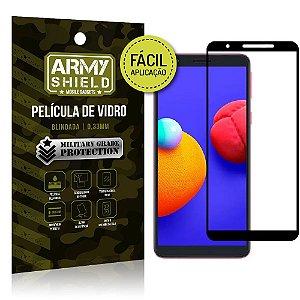 Película de Vidro 3D Samsung A01 Core Fácil de aplicação - Armyshield