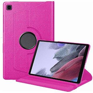 Capa Giratória Pink Tab A7 Lite 8.7 T220 T225 - Armyshield