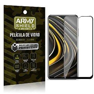 """Película de Vidro Poco M3 Blindada para tela 6,5"""" Full Cover - Armyshield"""