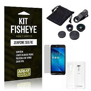 Kit Fisheye Asus Zenfone Selfie ZD551KL - ArmyShield