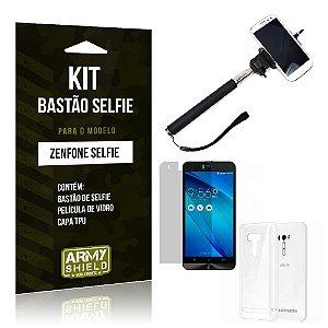 Kit Bastão Selfie Asus Zenfone Selfie ZD551KL - ArmyShield