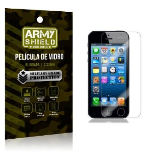 Película de Vidro Iphone 5g/5 se - Armyshield