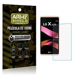 Película de Vidro Lg x style - Armyshield