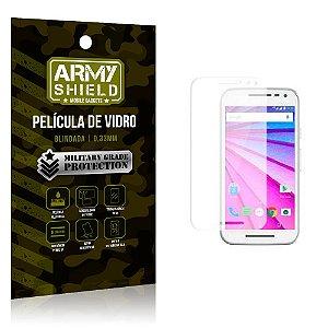 Película de Vidro Motorola moto g3 - Armyshield