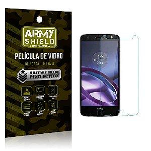 Película de Vidro Motorola moto z force - Armyshield