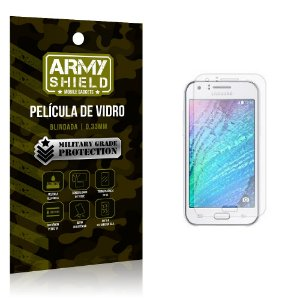 Película de Vidro Samsung j1 ace - Armyshield