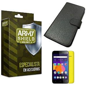 Capa Carteira Alcatel pixi 4/5.0 - Armyshield