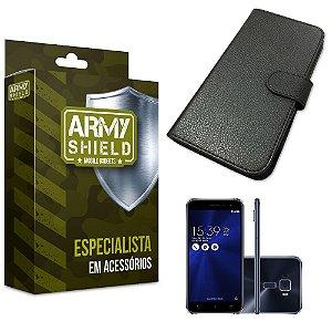 Capa Carteira Asus Zenfone 3/5.2 ZE520KL - Armyshield