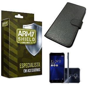 Capa Carteira Asus Zenfone 3/5.5 ZE552KL - Armyshield