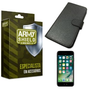 Capa Carteira Iphone 7 - Armyshield