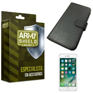Capa Carteira Iphone 6/ 6S - Armyshield