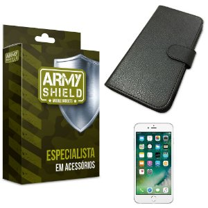 Capa Carteira Iphone 6 plus / 6S Plus - Armyshield