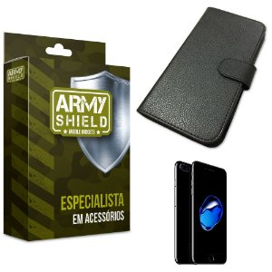 Capa Carteira Iphone 7 plus - Armyshield