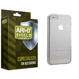 Capa TPU Iphone 5g/5 se - Armyshield