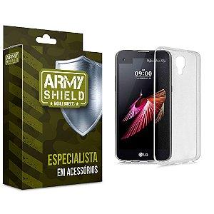 Capa TPU Lg x screen - Armyshield
