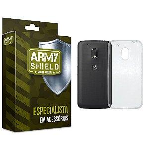 Capa TPU Motorola moto g4 play - Armyshield