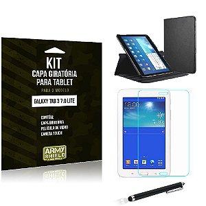 Kit Capa Giratória Samsung Galaxy Tab 3 7.0' Lite - Armyshield