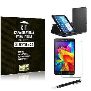 Kit Capa Giratória Samsung Galaxy Tab 4 7.0' - Armyshield