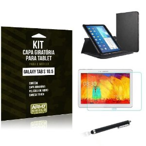 Kit Capa Giratória Samsung Galaxy Tab S 10.5' - Armyshield