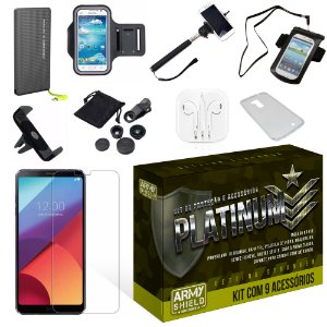 Kit Platinum LG G6 com 9 Itens - Armyshield