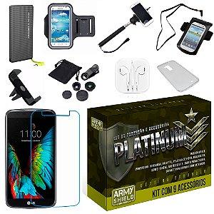 Kit Platinum LG K4 com 9 Itens - Armyshield