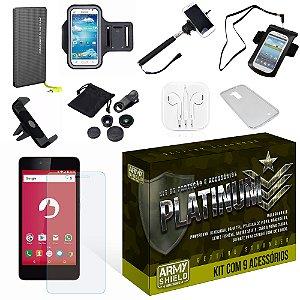 Kit Platinum Positivo Twist S520 com 9 Itens - Armyshield