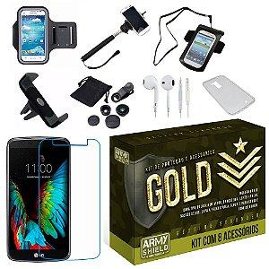 Kit Gold LG K4 com 8 Itens - Armyshield