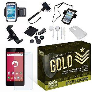 Kit Gold Positivo Twist S520 com 8 Itens - Armyshield