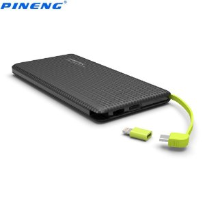 Carregador Portátil Power Bank Pineng PN-951 10.000 mAh