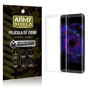 Película de Vidro Curvada Samsung Galaxy S8 - Armyshield