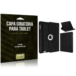 Capa Giratória para Tablet Apple iPad 4 - Armyshield
