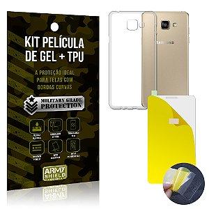 Kit Película de Gel + Capa TPU Samsung Galaxy A5 (2016)  - Armyshield