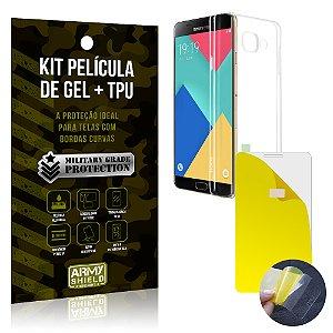 Kit Película de Gel + Capa TPU Samsung Galaxy A7 (2016)  - Armyshield