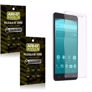 Kit 2 Películas de Vidro Alcatel A3 XL - Armyshield