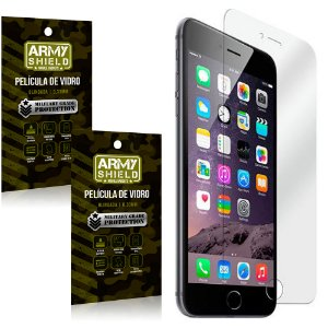 Kit 2 Películas de Vidro Iphone 6/ 6S - Armyshield