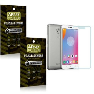 Kit 2 Películas de Vidro Lenovo k6 plus - Armyshield