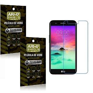 Kit 2 Películas de Vidro Curvada LG K10 Novo 2017 - Armyshield