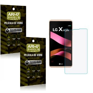 Kit 2 Películas de Vidro Lg x style - Armyshield