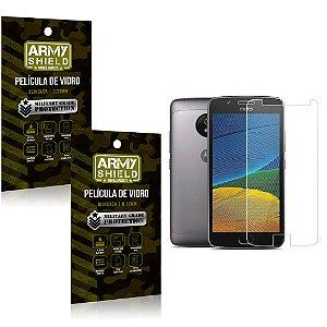 Kit 2 Películas de Vidro Motorola moto e4 - Armyshield