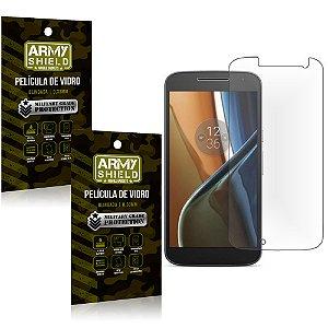 Kit 2 Películas de Vidro Motorola moto g4 - Armyshield