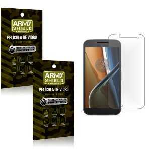 Kit 2 Películas de Vidro Motorola moto g4 play - Armyshield