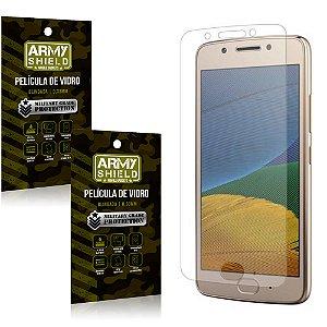 Kit 2 Películas de Vidro Motorola Moto G5 - Armyshield