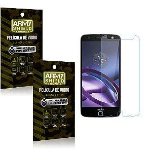 Kit 2 Películas de Vidro Motorola moto z force - Armyshield