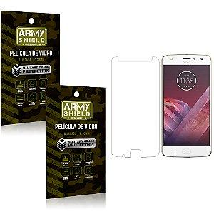Kit 2 Películas de Vidro Motorola moto z2 play - Armyshield
