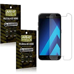 Kit 2 Películas de Vidro Samsung A7 2017 - Armyshield
